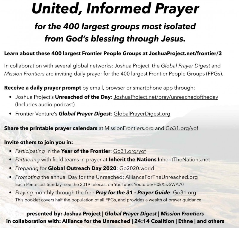 picture regarding Oath and Covenant of the Priesthood Printable named Mission Frontiers - Eyesight for a Refugee Kingdom Move