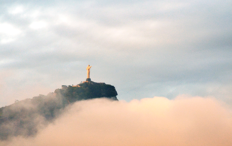 """Cristo nas nuvens"" by Rodrigo Soldon is licensed under CC By-ND 2.0"